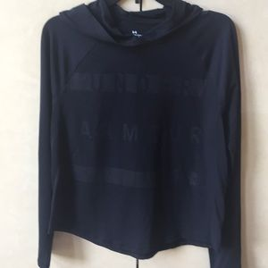 NWT Under Armour Hooded Top
